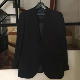 Men's suit, blue gray