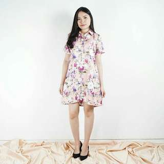 Piony Flower Dress