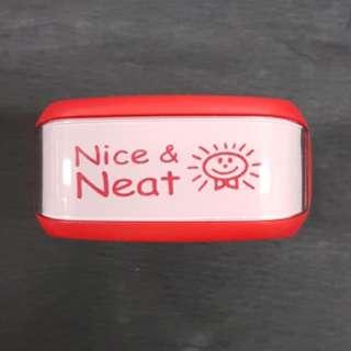 Teacher Stamp: Nice & Neat