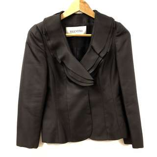 西裝外套 Valentino black jacket size 6