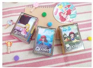 Disney [日本境內版]Mini QPosket vol.4 小美人魚///白雪公主///睡美人 單選