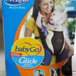 Evenflo babyGo Glide Soft Carrier