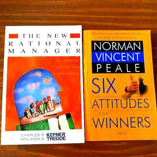 2 for $12: The New Rational Manager, Six Attitudes for Winners