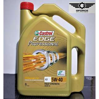 Castrol Edge Professional Fully Synthetic 5W-40