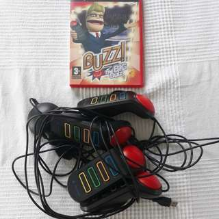 Pre-loved Playstation Buzz Quiz Game