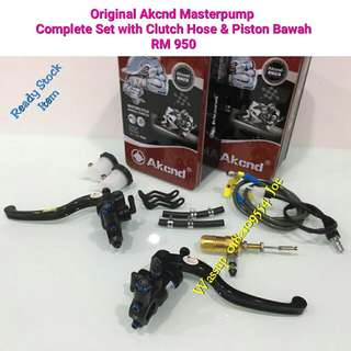 Original Akcnd Masterpump with Clutch Hose & Piston Bawah