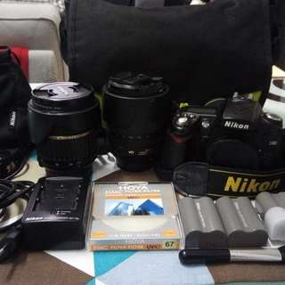 Nikon D90 Kit with accessories ( optional Tamron lense)