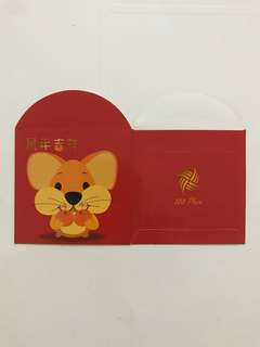 888 Plaza Rat Red Packet Ang Pow