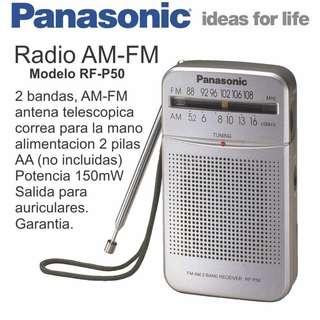 DSE會考必備良品 Panasonic RF-P50 AM/FM 袖珍型收音機 Exam Radio
