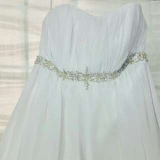 Wedding gown sale $100