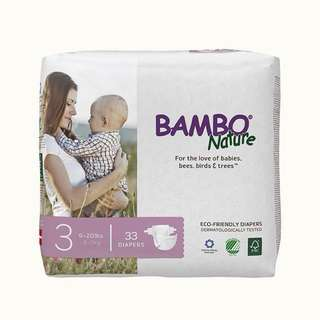 Bambo Nature Baby Diaper Size 3 (4-9Kg)