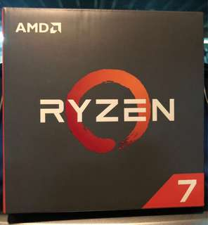 AMD Ryzen 7 1800x 8 core