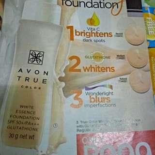 3 in 1 whitening foundation spf 30