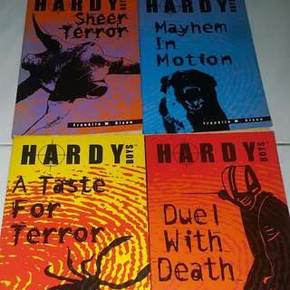 HARDY Boys books