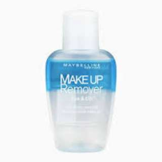 Maybelline make up remover
