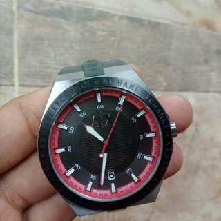 Armani exchange rubber band