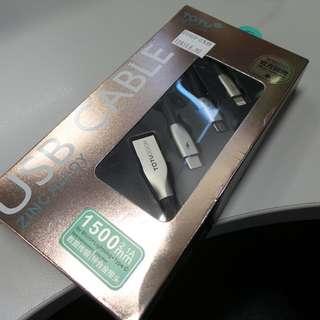 02083 USB charging Type C, Lightning and Micro USB adaptor