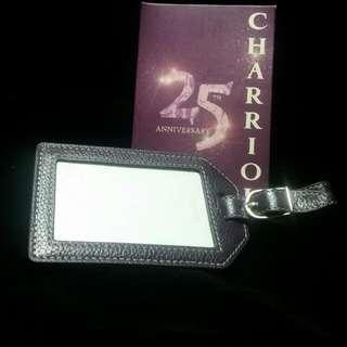 CHARRIOL 25週年紀念版行李牌'