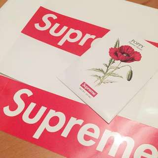 (包郵)Supreme 18ss novelty, box logo sticker, shopping bag
