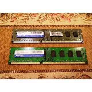 ADATA威剛 DDR3 4G(2Gx2) 記憶體 終身保固