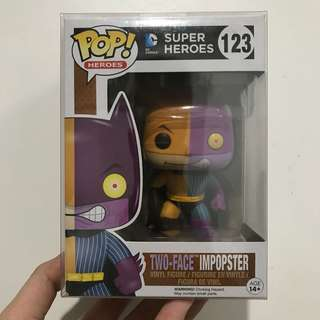 Funko Pop Two-Face Impopster