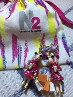 N2 creative jewellery 耳環