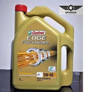 Castrol Edge Professional 5W40 Fully Synthetic (4 Litre)