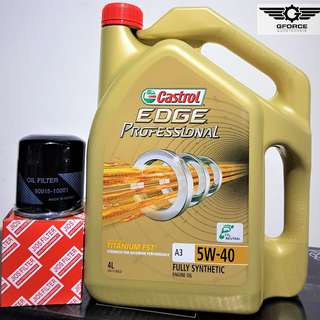 Castrol Edge Professional 5W40 Fully Synthetic (4 Litre) Servicing