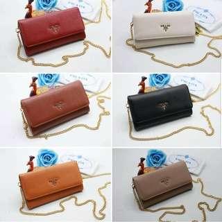 💛❤pre-order 💛❤ Prada mini sling bag 8 inch