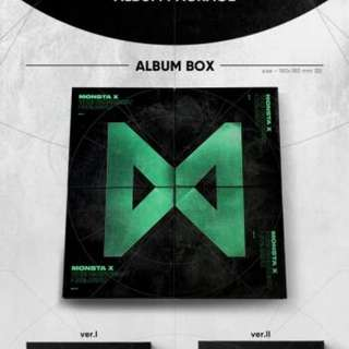 MONSTA X 6TH MINI ALBUM - THE CONNECT : DEJAVU (I+II+III+IV VER)