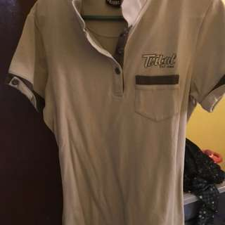 Tribal polo shirt
