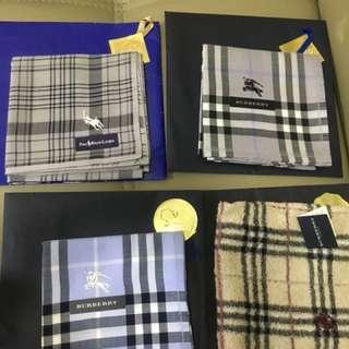 全新Burberry 手巾 毛巾 汗巾