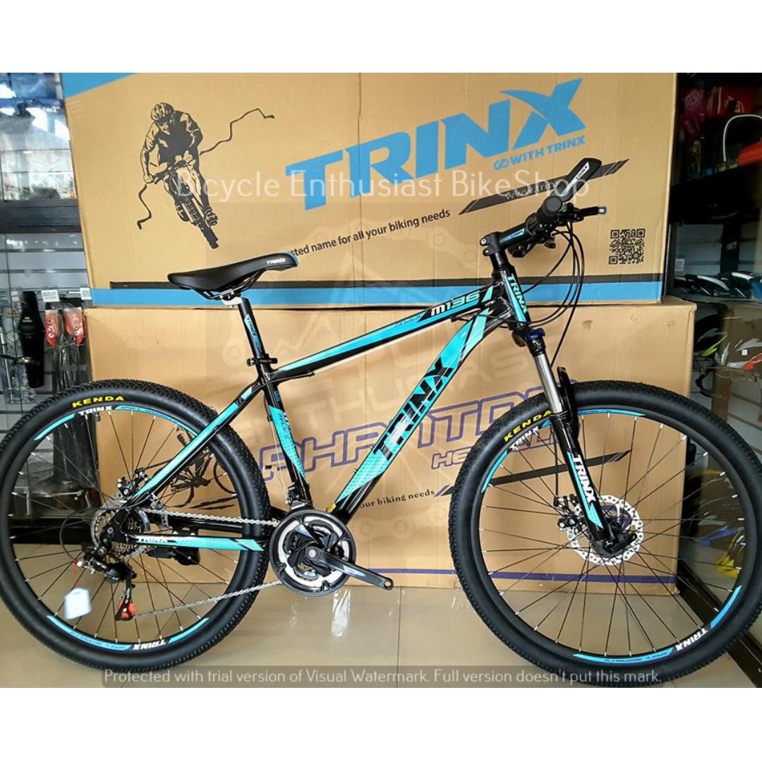 60de0eb7f27 2018 Trinx M136 26 Mountain Bike Bicycle MTB Mechanical Alloy ...
