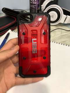 UAG iphone 7/8 Casing red
