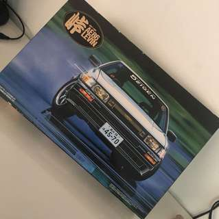 Toyota ae86 levin model kit