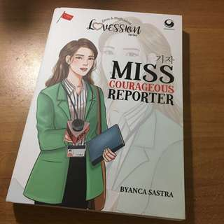 (PRELOVED) NOVEL MISS COURAGEOUS REPORTER