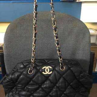 Chanel Bubble Quilted