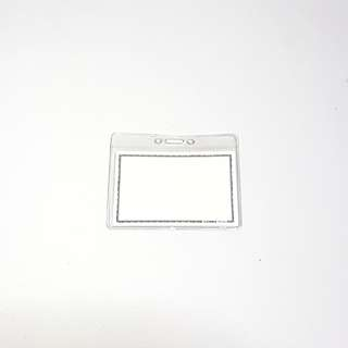 Clear Plastic Card Holder