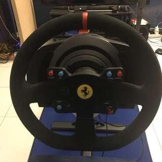 Thrustmaster T300RS Alcantara Ferrari Edition