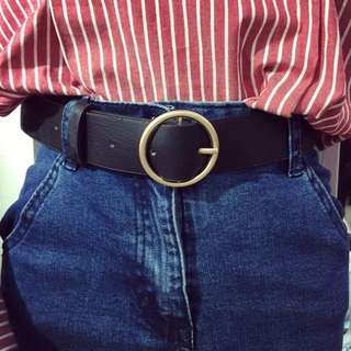 SOLD OUT Brand new vintage Circle Belt