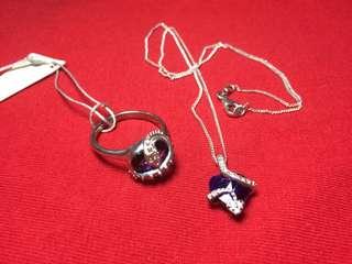 Kalung & Cincin Batu