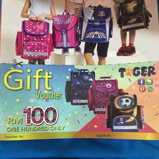 School bag voucher for free