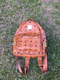 Bagpack MCM Leather