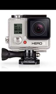 Gopro 3 action camera