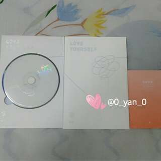 [WTS Only] BTS Love Yourself O ver UNSEALED album