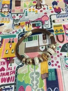 Pandora inspired bracelet