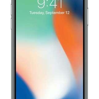 全新100%Iphone X