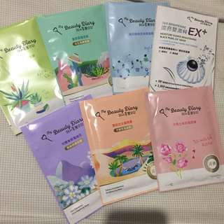 My Beauty Diary sheetmask set
