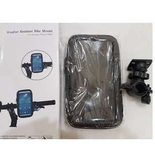 Waterproof smartphone holder for bicycle / escooter [BRAND NEW]