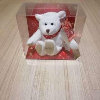 Clearance - Stuffed bear in box